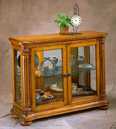 Superb 35771 Danville Console Curio Cabinet Philip Reinisch. 44u2033 ...
