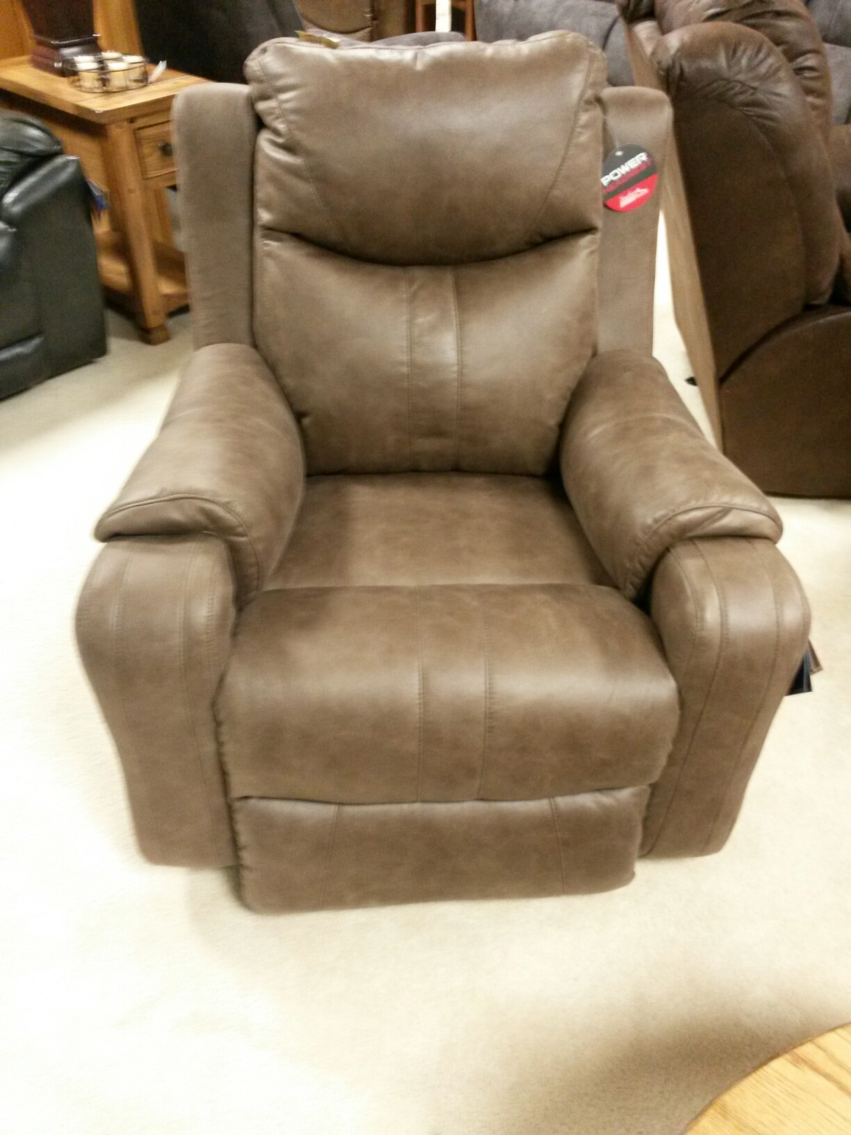 black powell recliner omni pearl catnapper bed recliners